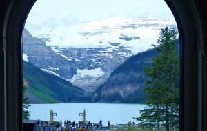 【班夫国家公园图片】加拿大落基山之旅--路易斯湖城堡酒店