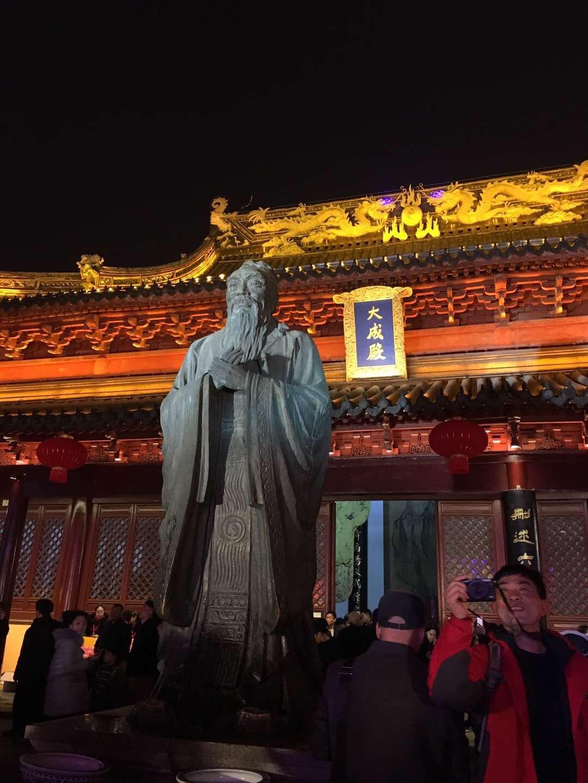 春节假期第三站大年初二的夫子庙以及秦淮河
