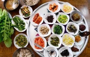 【光州图片】光州三大美食——无等山大麦饭,松亭牛肉饼,鸭子汤