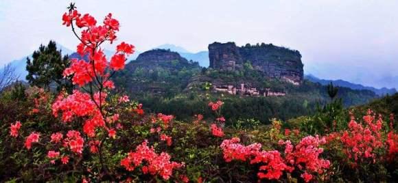 省级风景名胜区——东西岩风景区,坐落在浙江省丽水市区