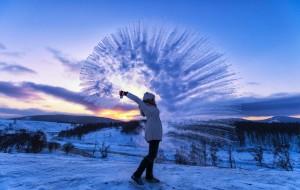 【兴安盟图片】浴雪阿尔山,不顾山高与路远