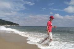 探索发现: 阳西沙扒湾神秘岛   揭示野海滩的神秘面纱