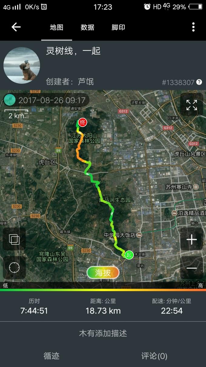苏州灵树线