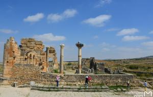 【摩洛哥图片】北非之古罗马帝国遗迹——沃吕比利斯城