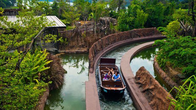 新加坡日间动物园一日电子门票(含园内小火车/可选与)