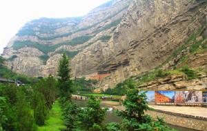 【大同图片】游遍中国自由行---坐着火车去拉萨回程(山西大同篇--悬空寺 北岳恒山 大同市 云冈石窟   )