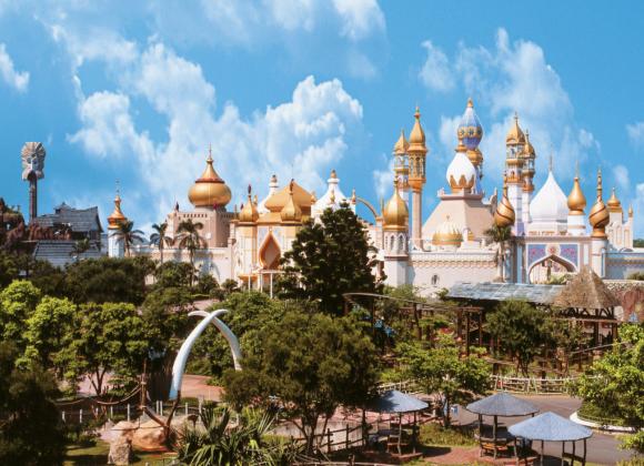 台湾首座结合动物生态与娱乐休闲的异国主题游乐园