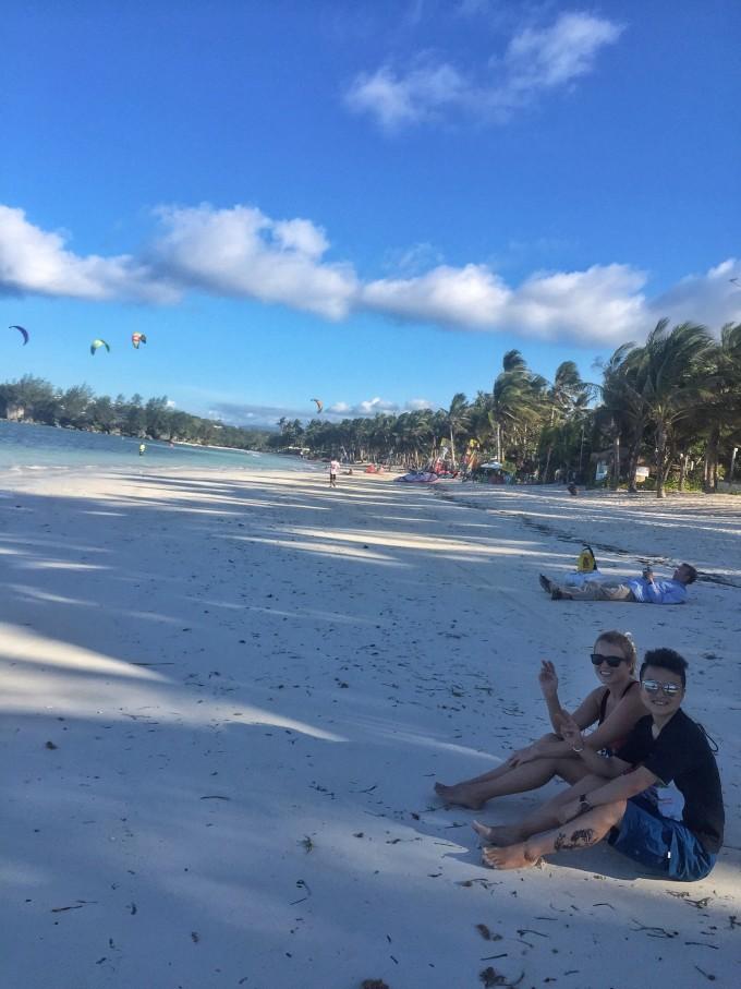 菲律宾薄荷岛出海看海豚, 处女岛吃鲍鱼,长滩岛看日落