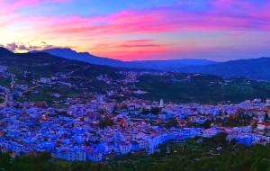 【卡萨布兰卡图片】摩洛哥:迷幻千年的色彩