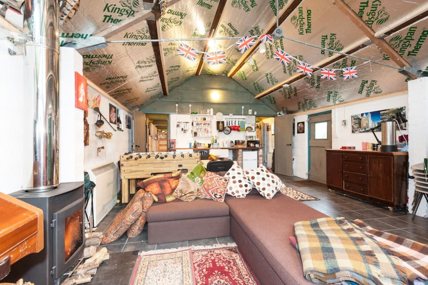 bnb in barn with 2 ensuite bedrooms