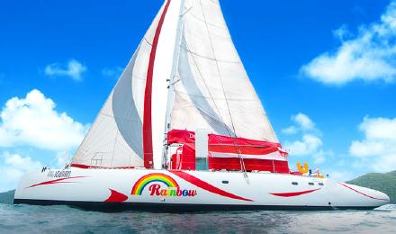 巨型奢华帆船普吉岛皇帝岛珊瑚岛一日游(含旅拍 午餐