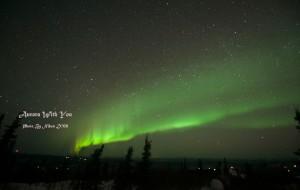 【阿拉斯加图片】冰天雪地 你看远处的那道绿光