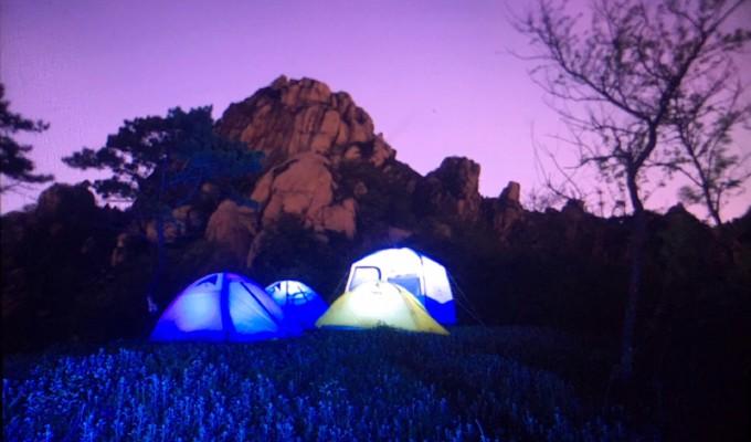 0顶 青岛崂山区:浮山顶露营攀岩 勇气可嘉的大风呼呼~ 23/0 02017-05
