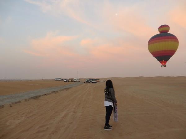 迪拜人的生活照