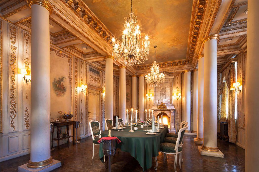 欧式贵族餐厅包间
