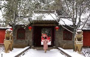 【太原图片】雪漫天飞舞,我们相遇在这里【永祚寺】