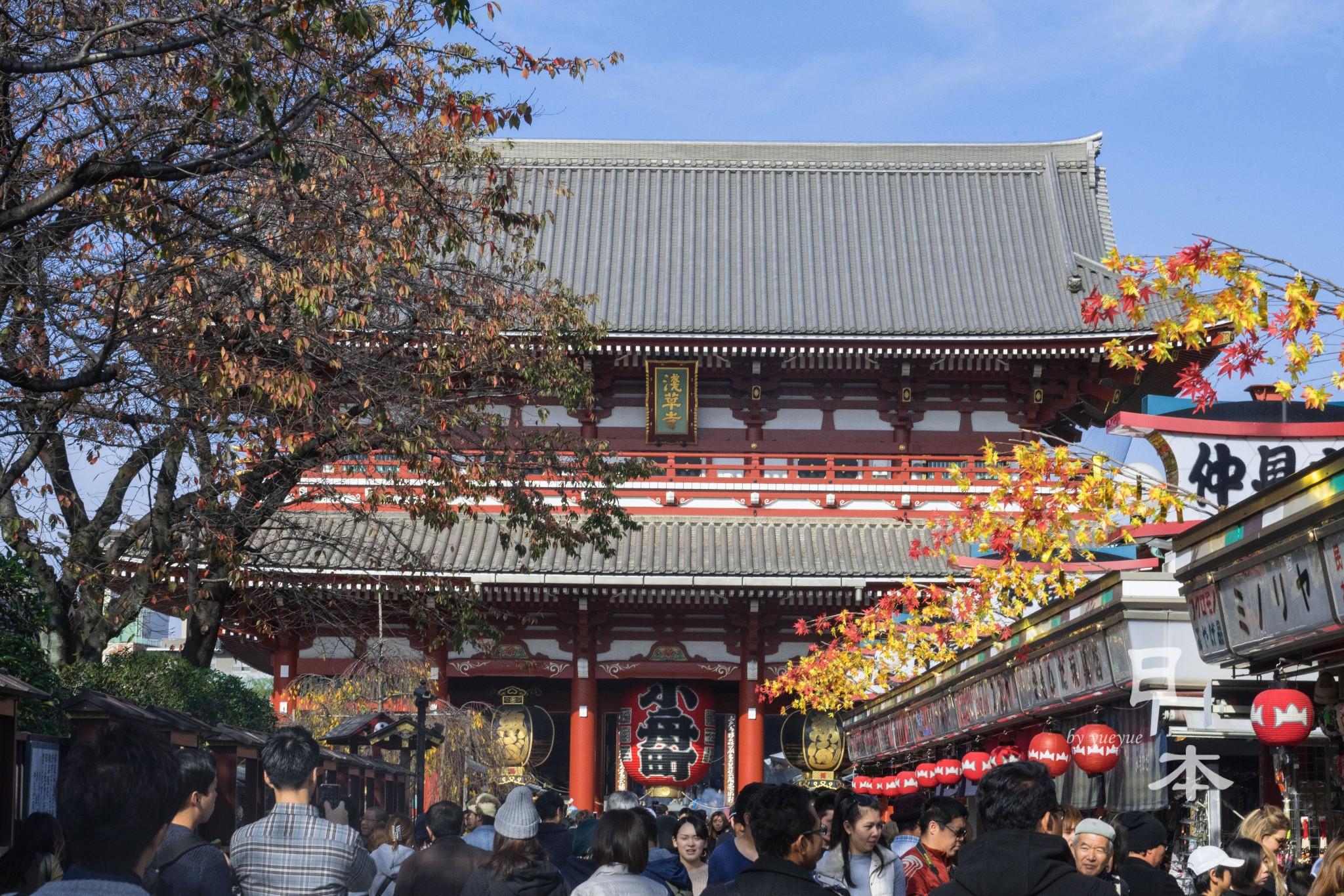 【东京景点图片】浅草寺