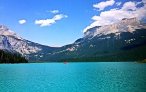 【加拿大落基山国家公园群图片】我带着娃,你拖着它,一起游落基山