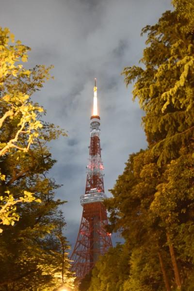 远处可以看见东京晴空塔