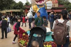 一岁两个月宝宝广州长隆野生动物园一日游