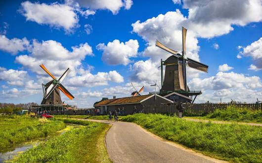 【风车村 沃伦丹】荷兰特色风景之旅一日游(周二,周六