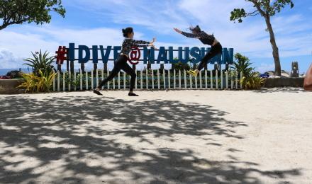 菲律宾 宿务私人岛屿 娜鲁苏安岛浮潜 上岛拍照 岛上海鲜自助餐一日