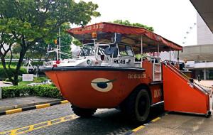 新加坡娱乐-新加坡鸭子船游览
