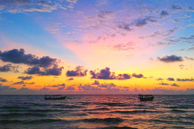 西哈努克2日海岛游(海边沙滩木屋 浮潜 水上项目)