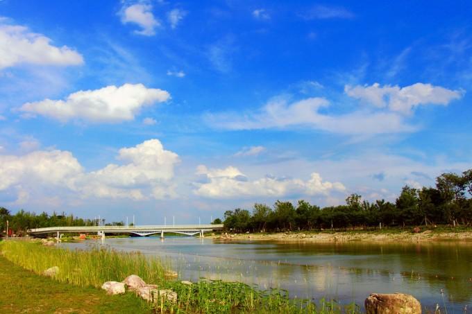 双鹤湖中央公园:向城而生 心归田园,郑州自助游攻略