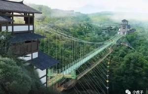 【阜阳图片】尤溪侠天下景区双层极限挑战玻璃悬桥即将呈现