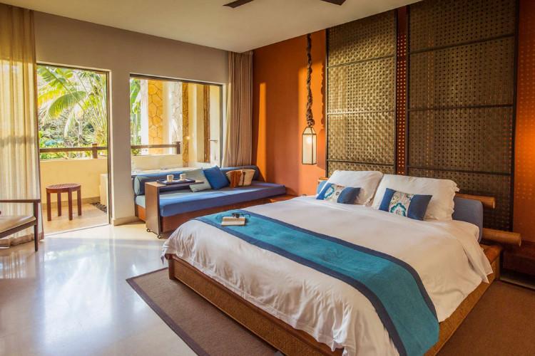 背景墙 房间 家居 酒店 设计 卧室 卧室装修 现代 装修 750_500