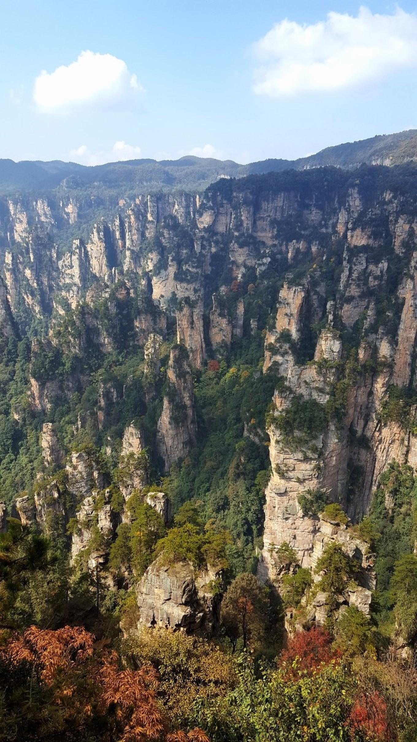 广州到张家界森林公园,天门山三日游图片