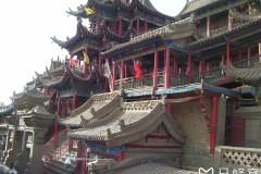 宁夏中卫逛高庙、看夜景——晋、陕、宁、甘、青29天自驾游之五