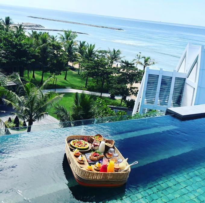 网红酒店|2018年巴厘岛漂浮早餐最佳top9