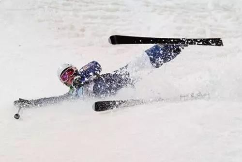 【安全篇二】滑雪的时候姿势很重要~