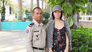 在柬埔寨開詩會