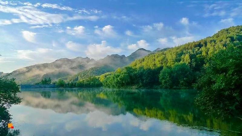 北京延庆,玉渡山自然风景区