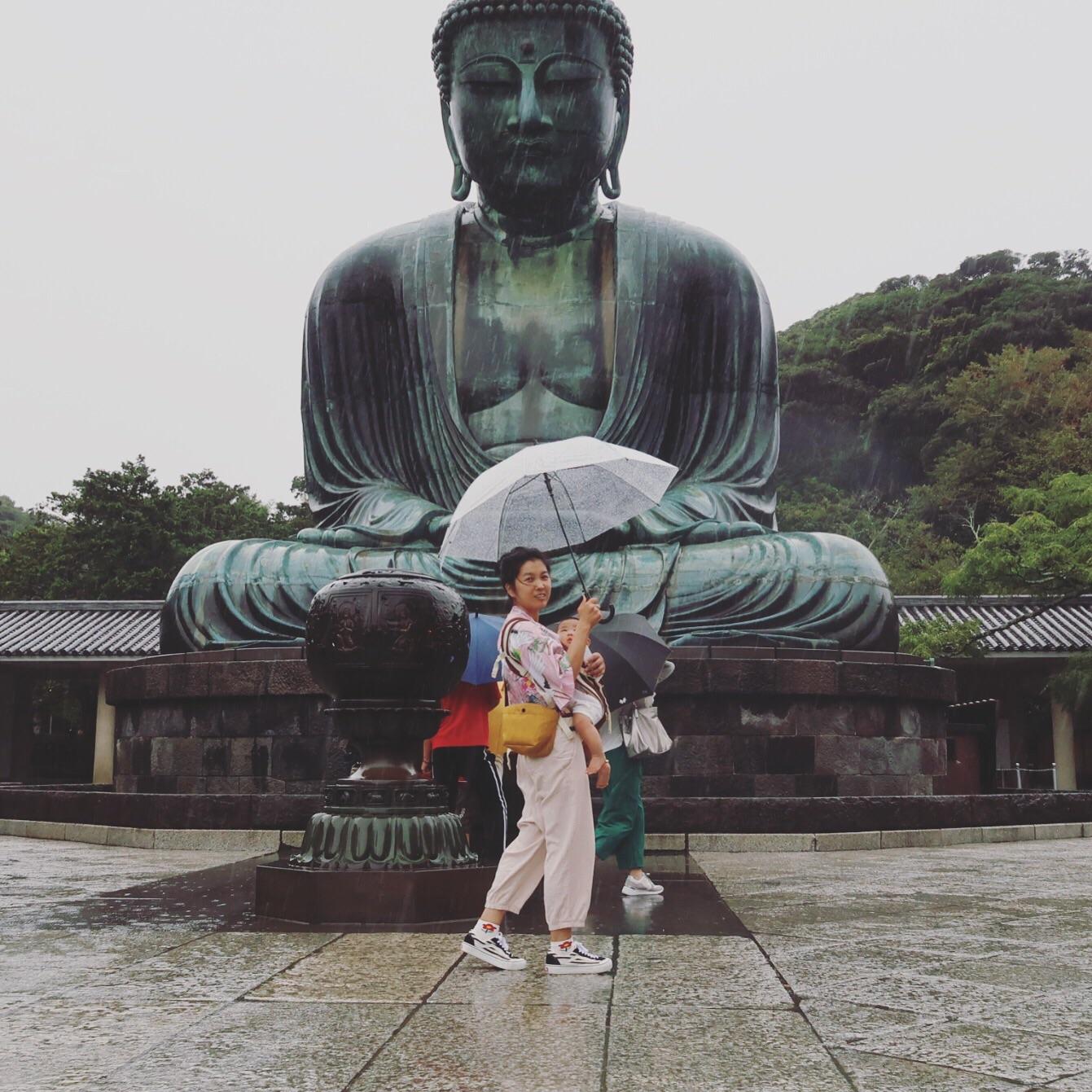 宝妈一人带宝宝出境游日本