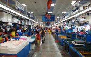 釜山美食-Jagalchi Market
