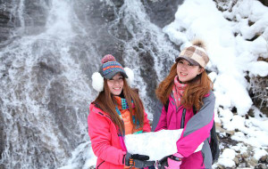 【长白山图片】2013.2  swing  in  长白山,雾凇岛.一路向北,寻找零下38度的刺激.