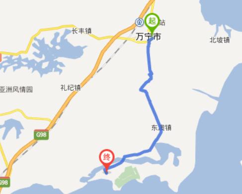 环海南岛东中线漫游记