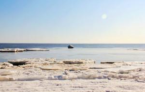 【昌黎图片】寻找冬天的另类美景——冻海