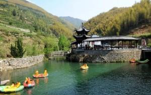 黄山娱乐-天湖景区漂流