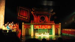 河内娱乐-升龙水上木偶剧院(Thang Long Water Puppet Theater)
