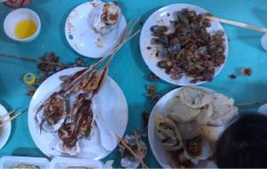 北戴河美食-石塘路市场饭店