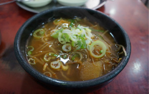 釜山美食-锦绣河豚粥店