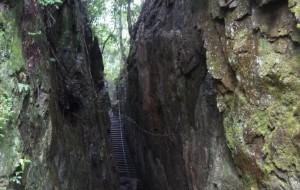 【黄岩图片】2013.6.29黄岩划岩山(上):裂谷与飞瀑
