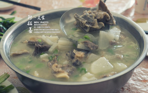 阿拉善美食-蒙古早茶