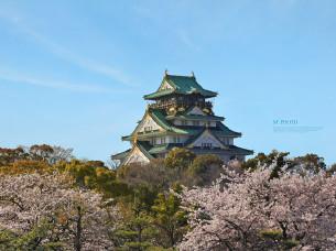【大阪景点图片】大阪城公园