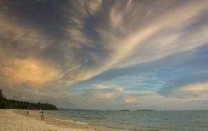 【西哈努克图片】西哈努克港的SokhaBeach海滩